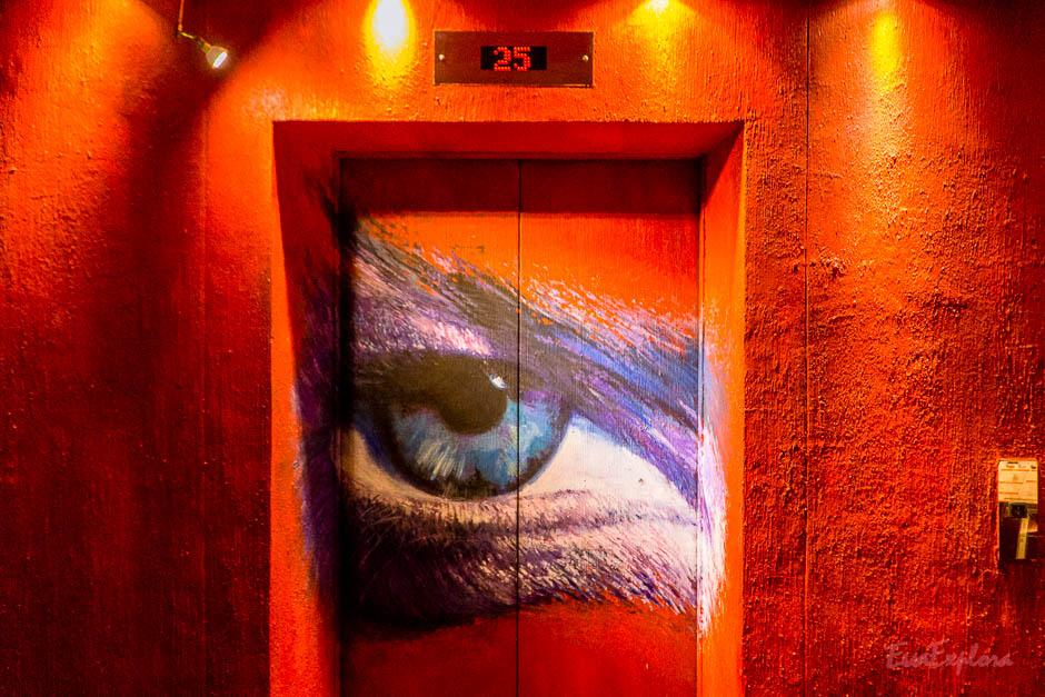 Individuelle Bemalung Aufzug