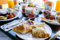 Leckereien zum Frühstück