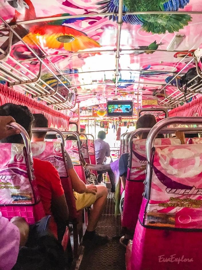 Bus fahren SriLanka