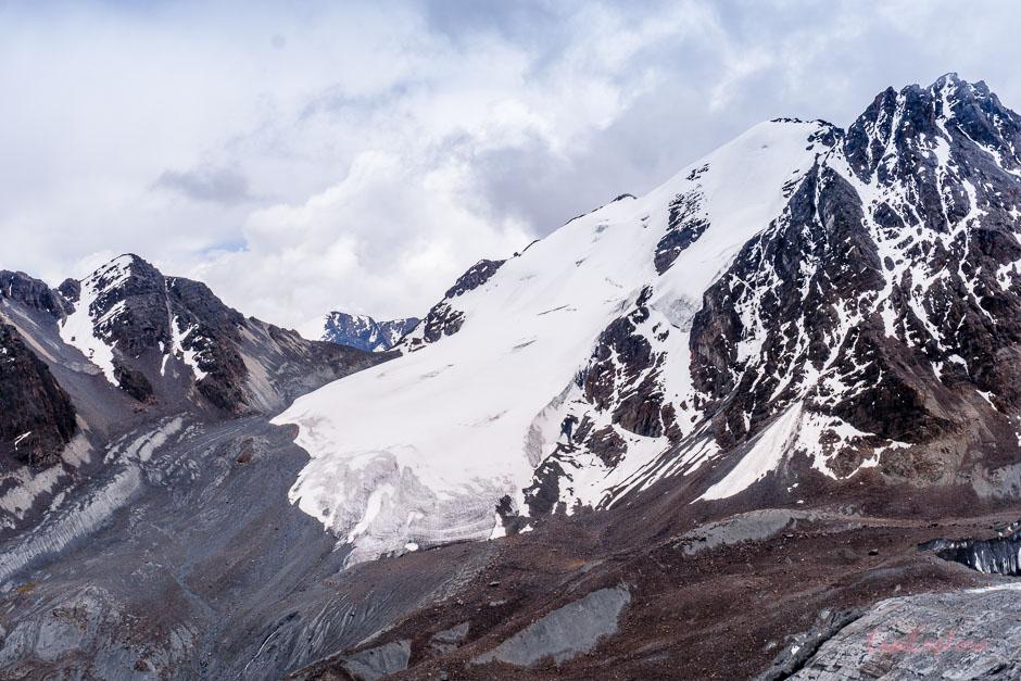 Gletscher Condoriri Gebirge