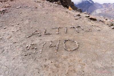 auf 5000m in Bolivien