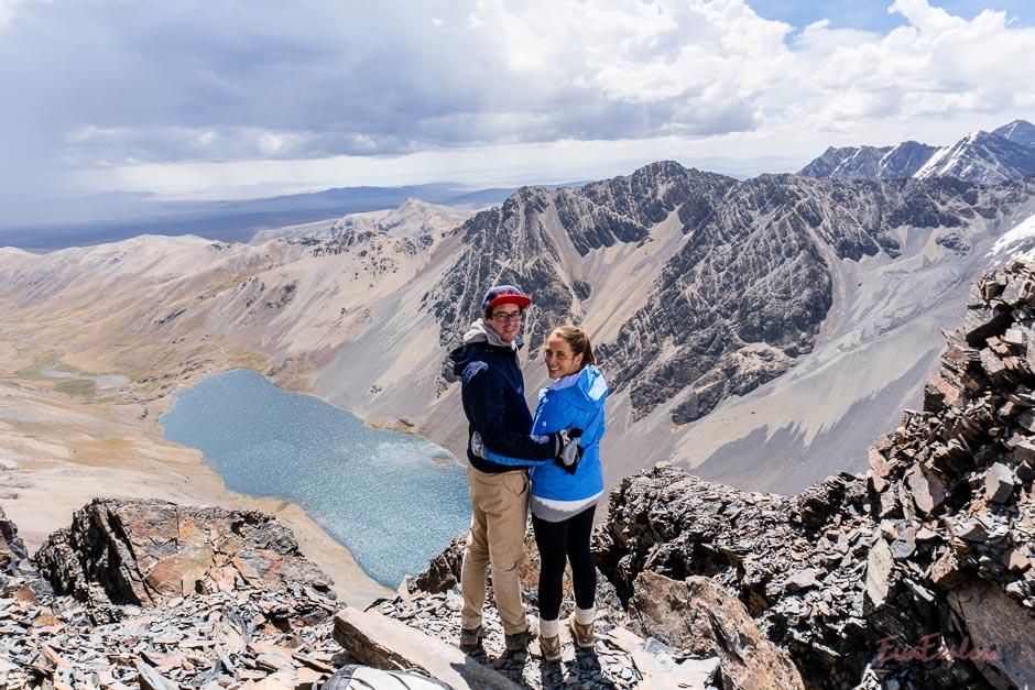 auf 5300 Metern in Bolivien