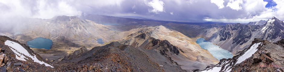 Panorama Aussicht am Pico Austria