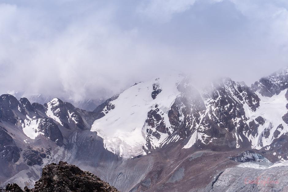 Gletscher Cordillera Real