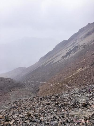 einsamer Weg am Pico Austria