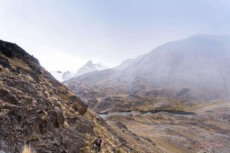 einsam wandern in Bolivien
