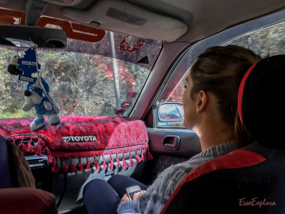 Autofahrt zum Pico Austria