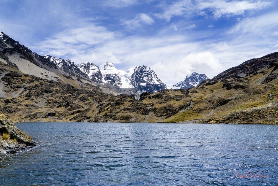 Laguna Chiarkota bei La Paz