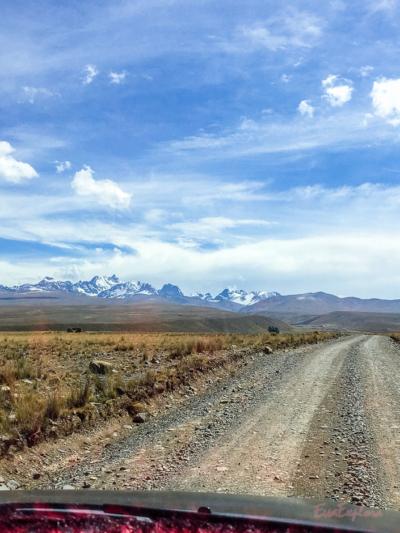 Aussicht Cordillera Real