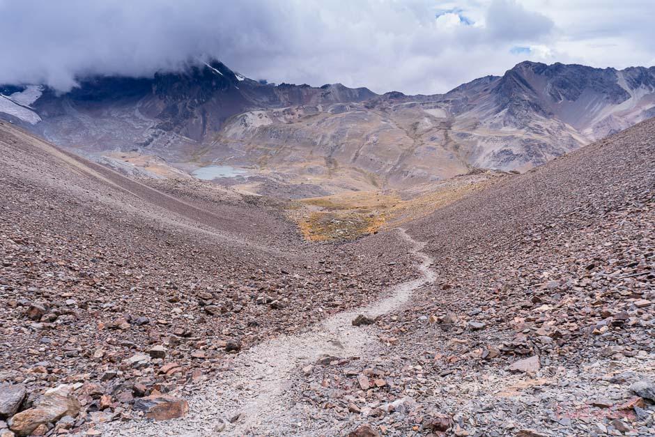 Weg zum Pico Austria