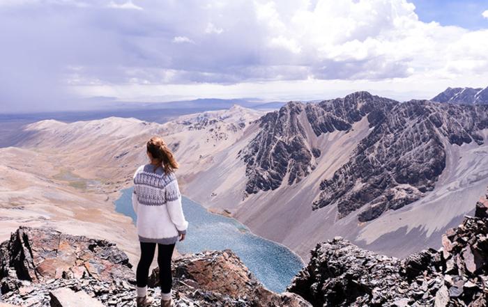 Trekking in Bolivien