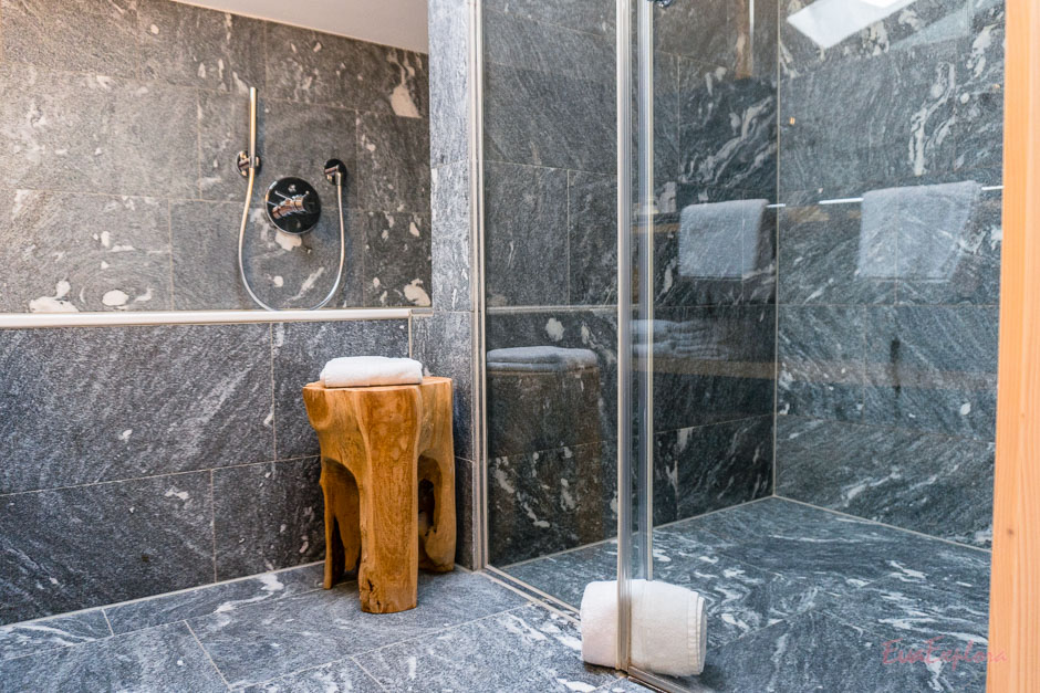 Badezimmer im Staudacherhof
