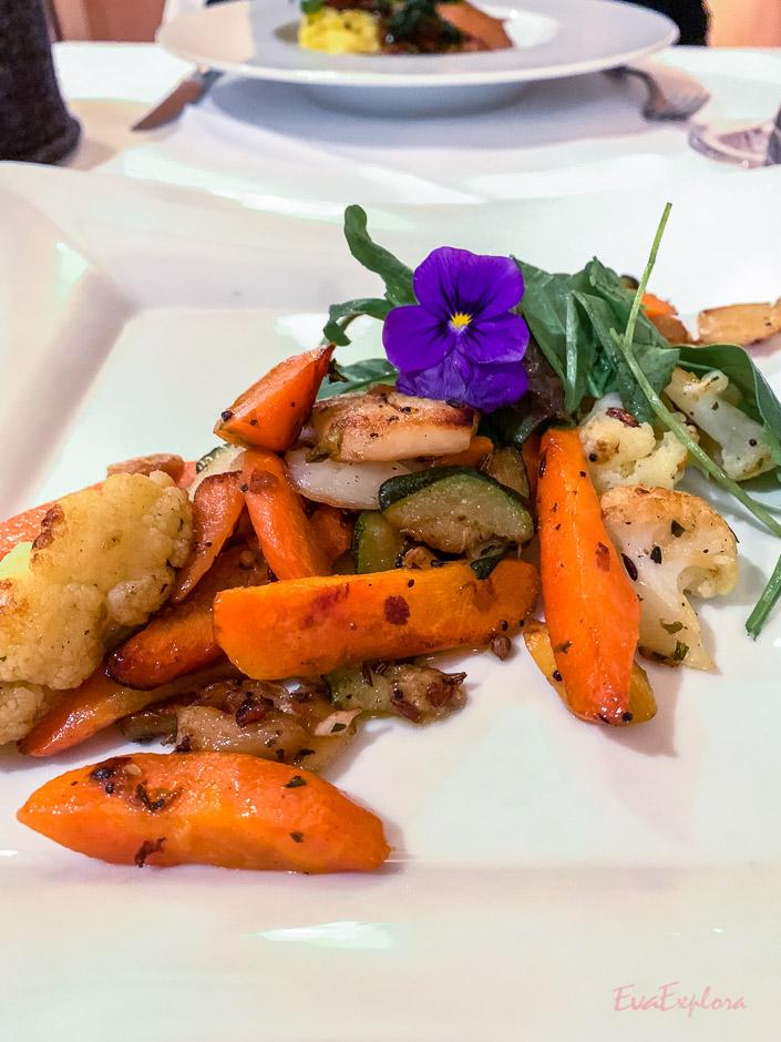 vegetarisches Essen im Staudacherhof