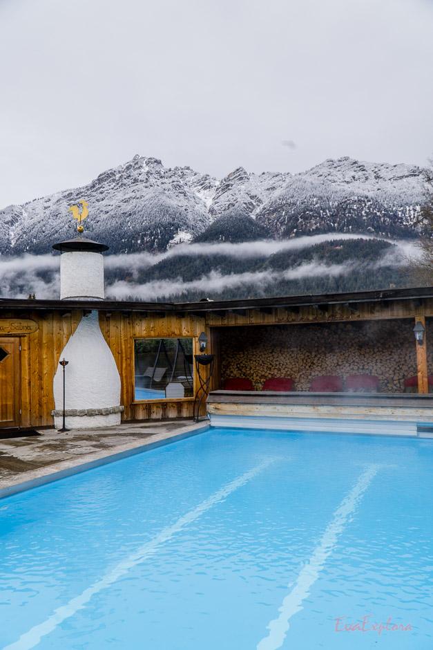Saunabereich mit Pool