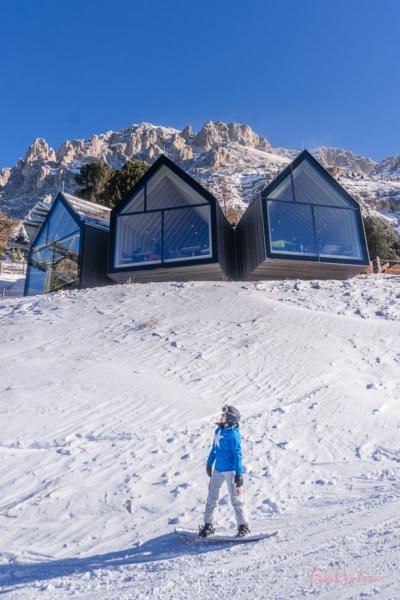 Snowboarden in Obereggen