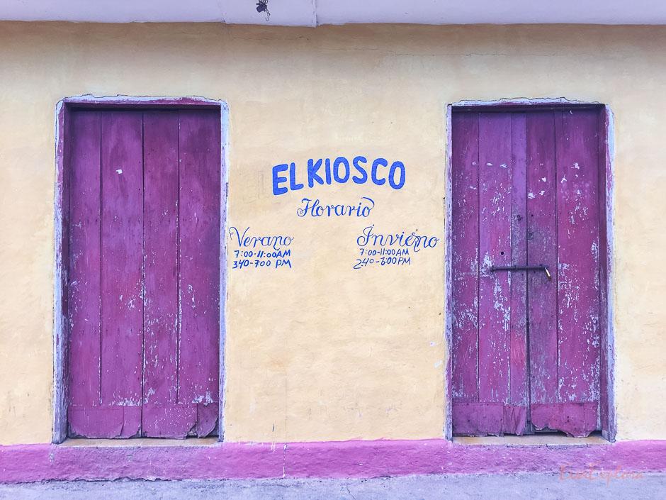 Kiosk auf Kuba