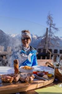 Mittagessen Skigebiet Obereggen