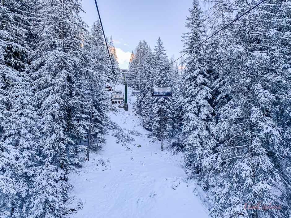 Skifahren in Obereggen