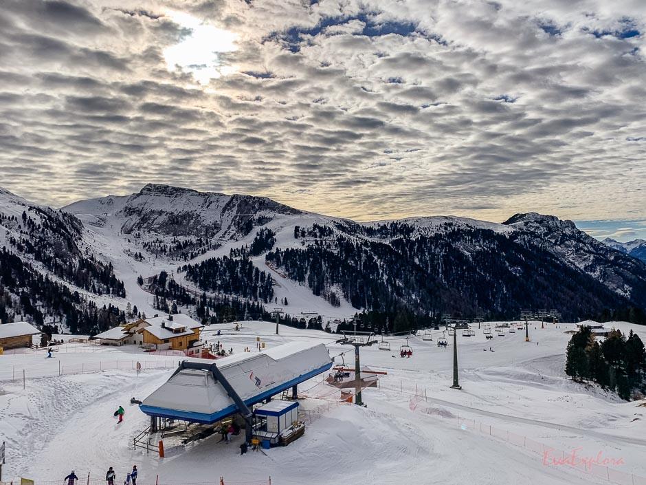 Skigebiet Obereggen Latemar