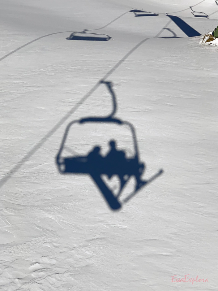 Snowboarden in Suedtirol