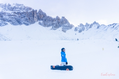 Earlybird Snowboarden Obereggen