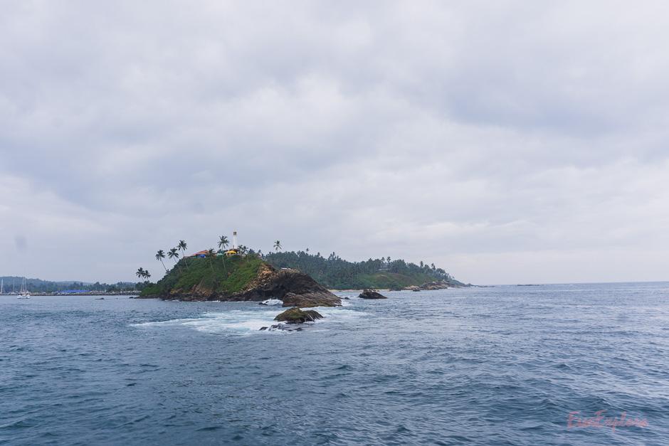 Mirissa Strand und Meer