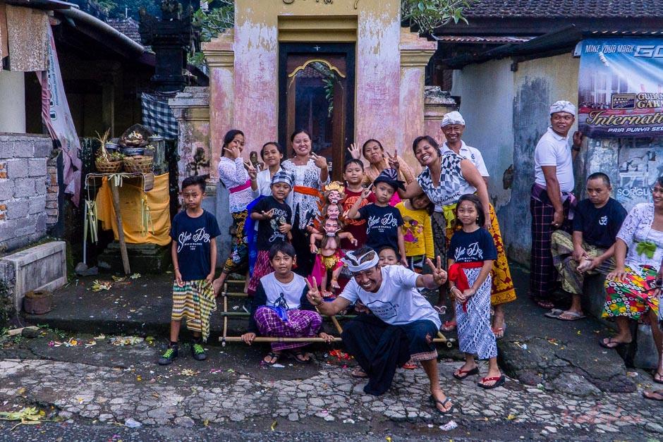 Neujahr feiern Bali