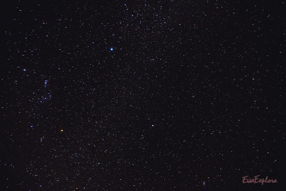 Sternenhimmel an Nyepi