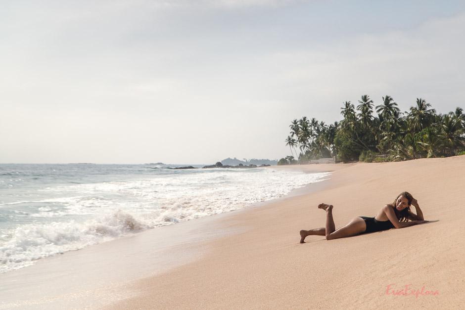 Traumstrand Sri Lanka