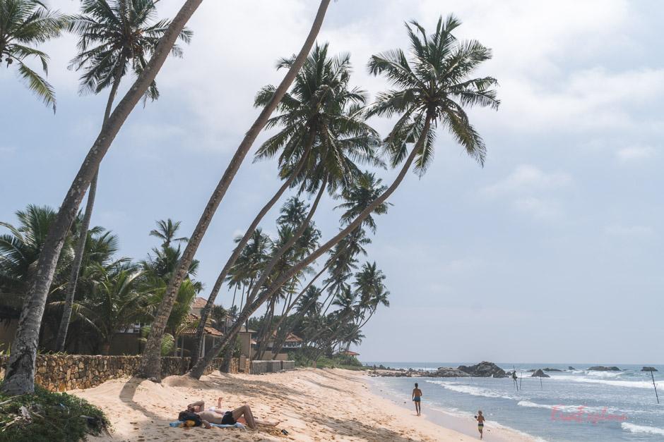 Straende auf SriLanka