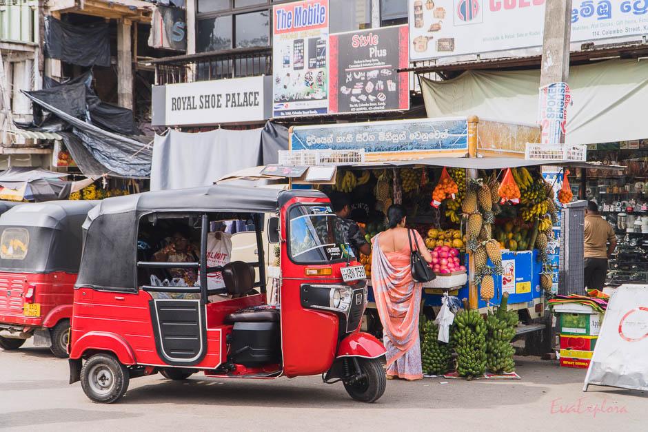 Alltag in Kandy