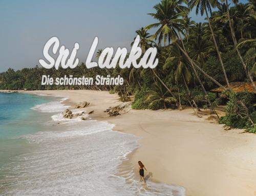 Die schönsten Strände auf Sri Lanka