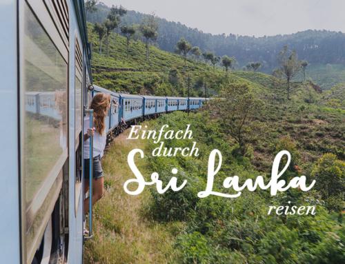 Einfach durch Sri Lanka reisen: Bus, Zug und Roller fahren