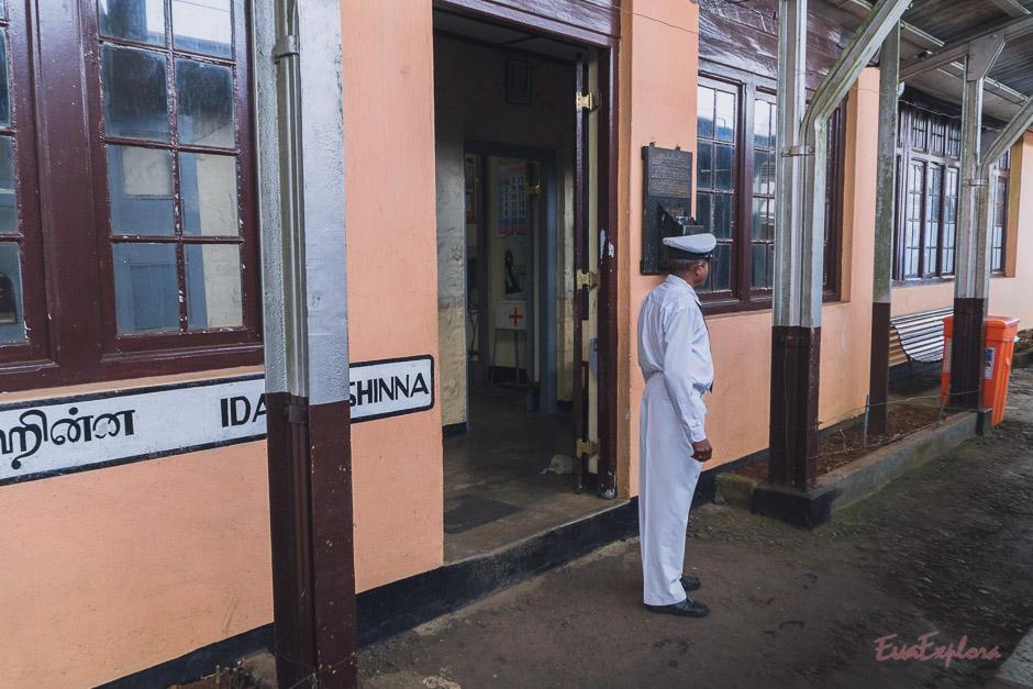 Zug fahren SriLanka