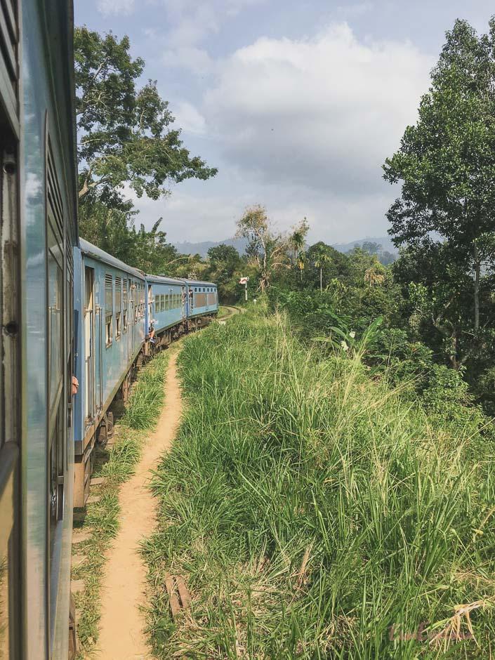 Zug fahren Sri Ella