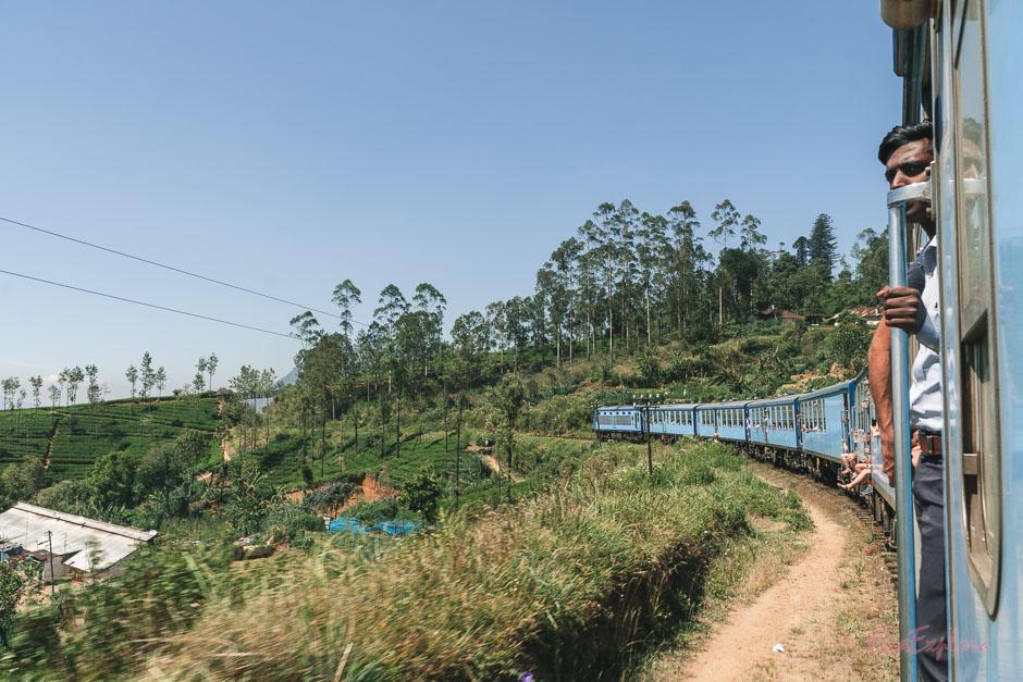 Zug von Kandy nach Ella