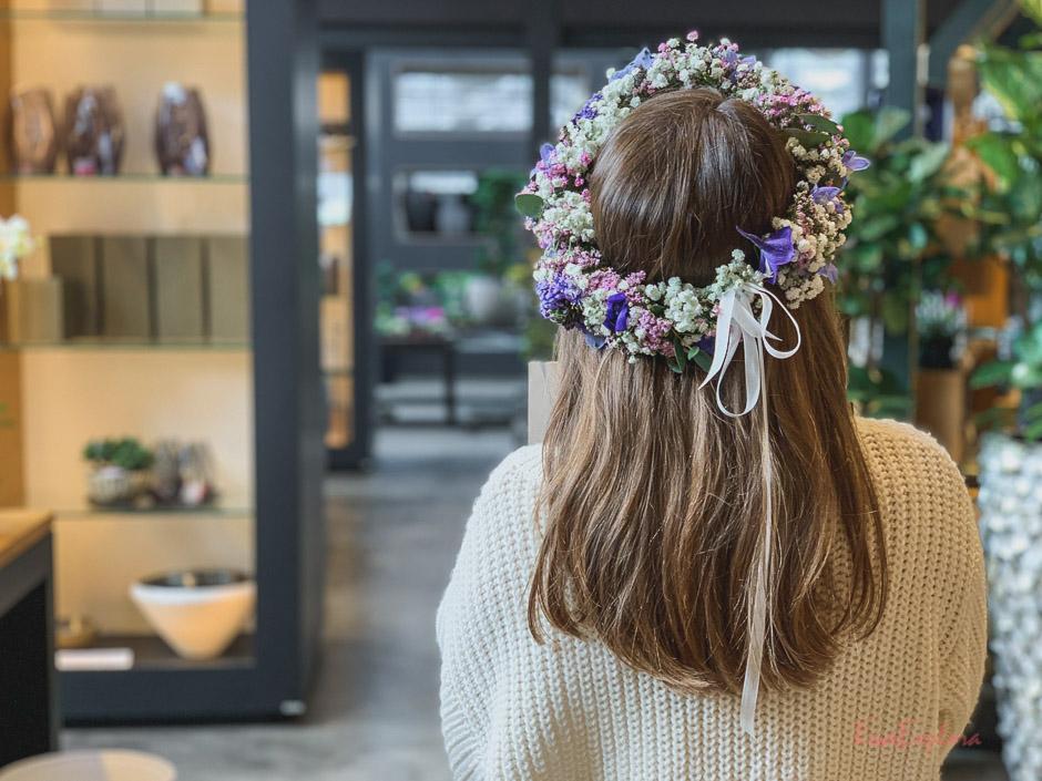 Blumenbinden in Landau