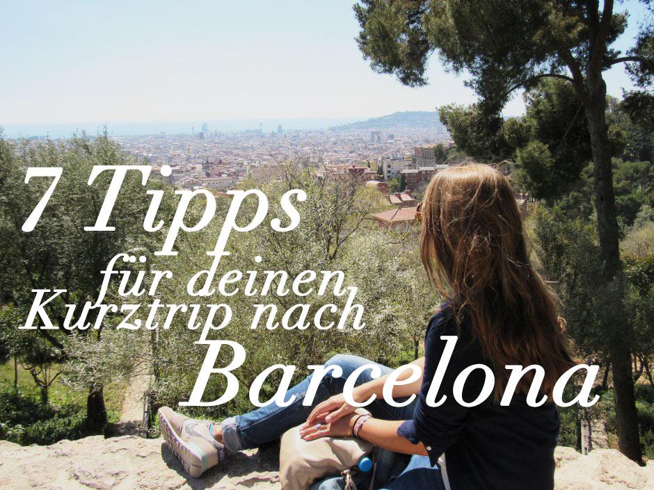 Barcelona Tipps