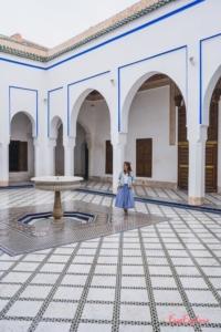 Marrakesch Sehenswuerdigkeit Bahia Palast
