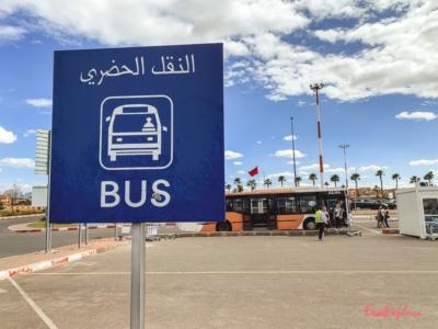 Flughafen Bus Marrakesch