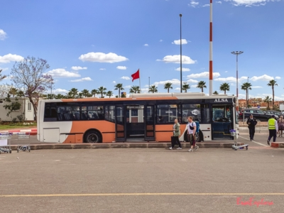 Flughafenbus Marrakesch