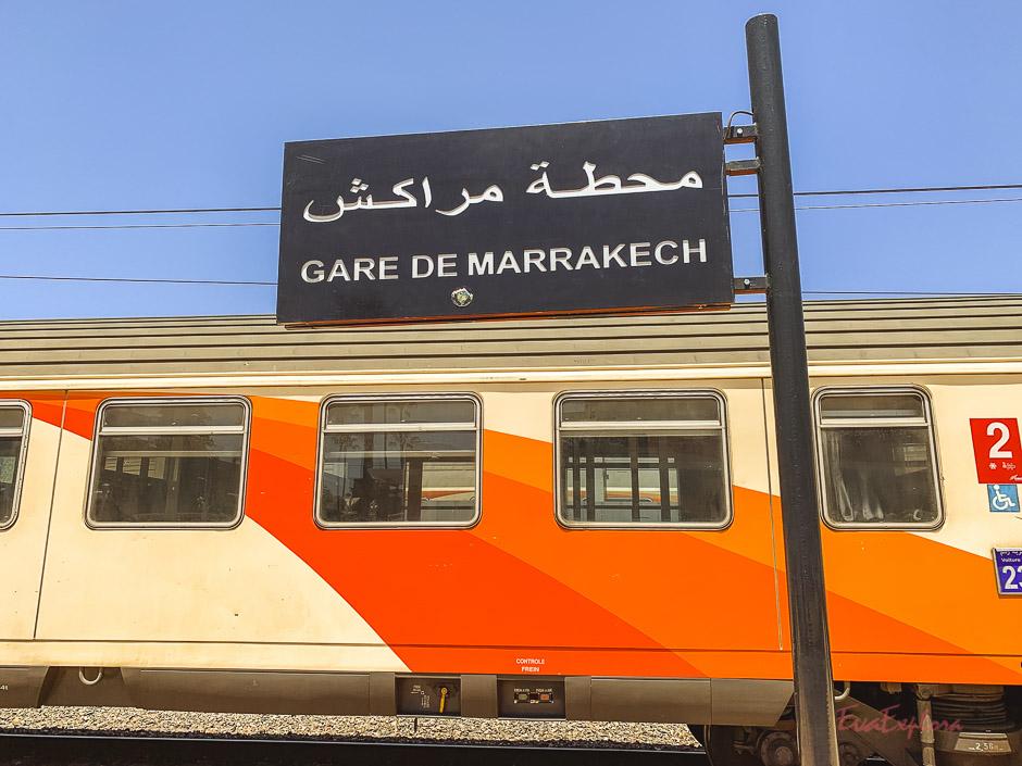 Bahnhof Marrakesch
