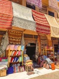 Teppiche in Marokko