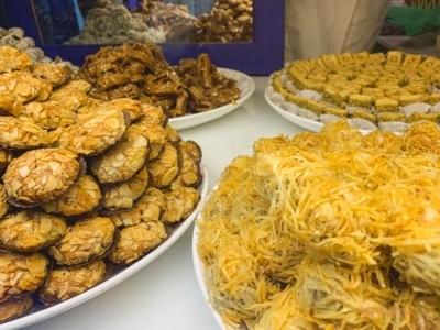 Nachtisch in Marrakesch