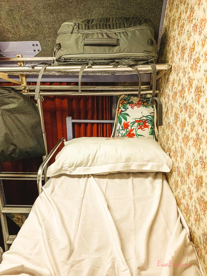Nachtzug fahren Marokko