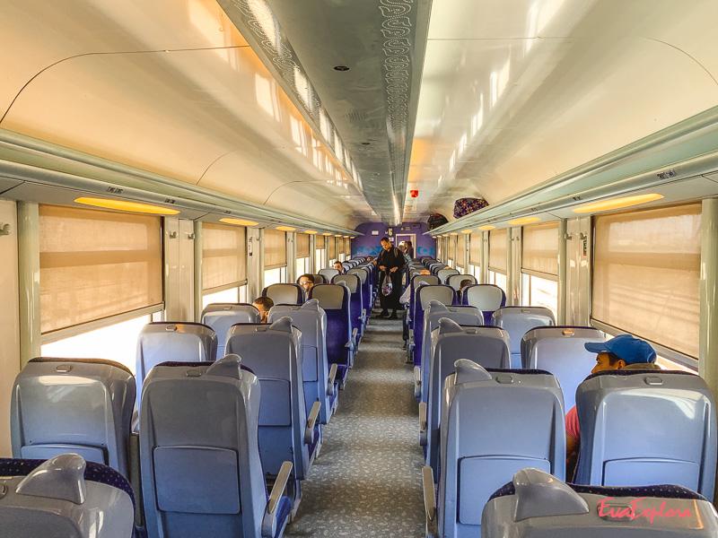 Zug fahren Marokko