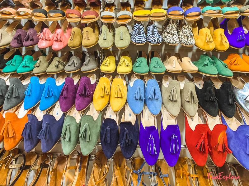 Lederwaren kaufen Marokko