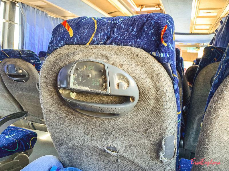 Bus fahren Marokko