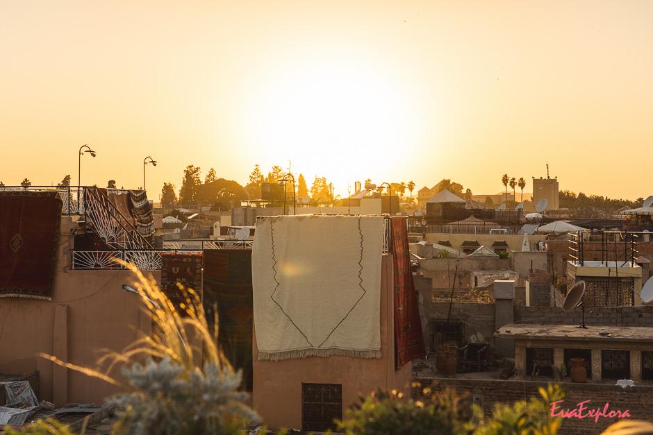Marrakesch Abendstimmung