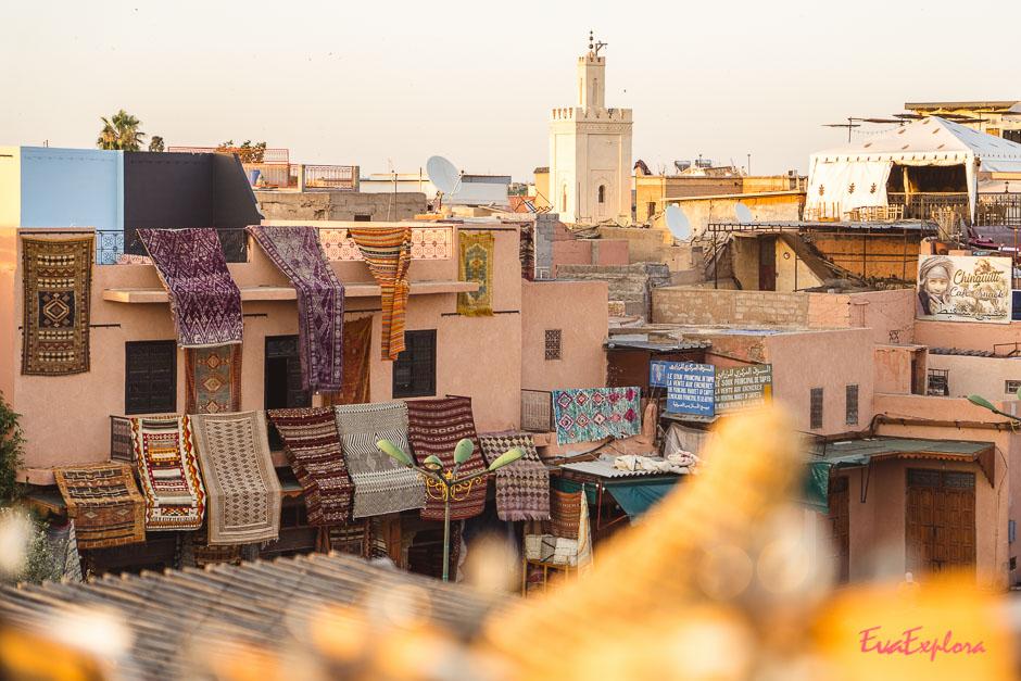 Aussicht auf Marrakesch